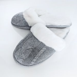 NWOT - Victoria's Secret - Grey Slippers